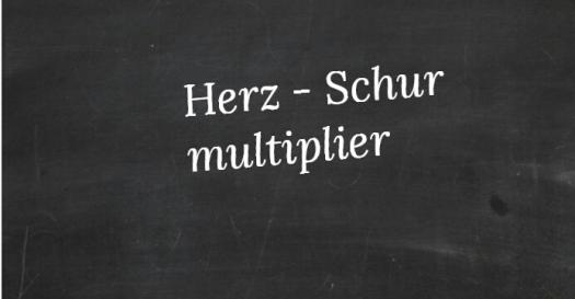 What Do You Know About Herzschur Multipliers?