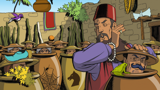 Ali Baba And The Forty Thieves Quiz For Kids