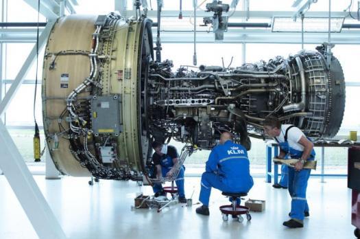 The Mechanism Of Jet Engine