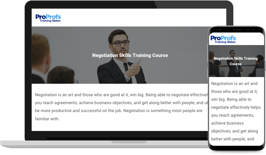 Negotiation Training Course