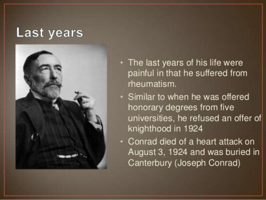 How Well Do You Know Joseph Conrad?