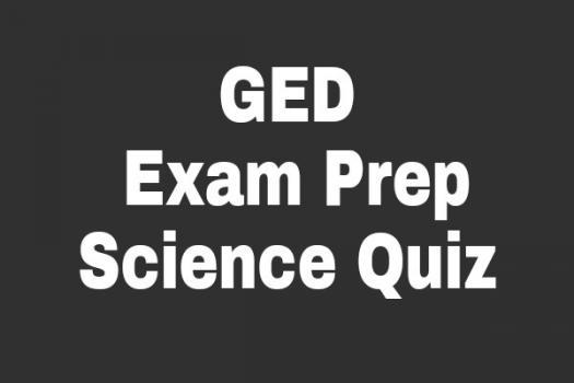 GED Exam Prep: Science