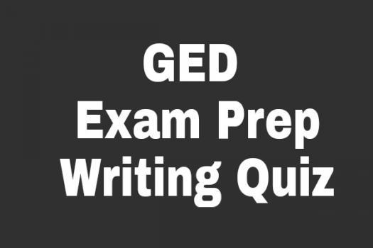 GED Exam Prep: Writing