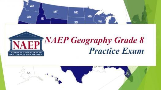 Naep Geography Grade 8