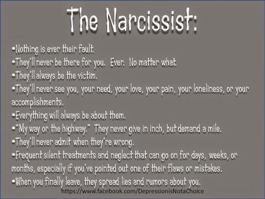 What Do You Know About Narcissist?