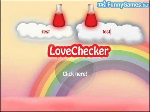 Love Checker Quiz