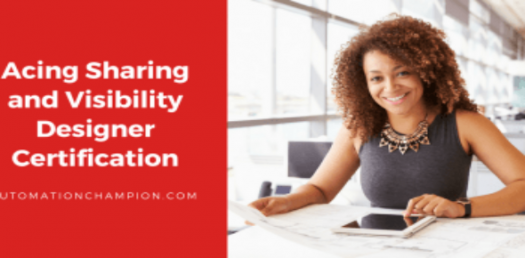 Acing Sharing And Visibility Designer Certification Quiz
