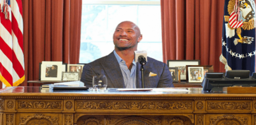 """""""Will Dwayne """"""""The Rock"""""""" Johnson Be The Next US President? """""""