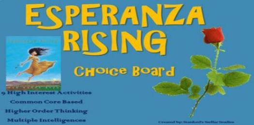 Esperanza Rising Test Trivia Quiz!