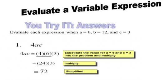 Variable And Expression Trivia Quiz