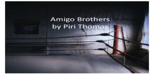 Quiz: Amigo Brothers By Piri Thomas - ProProfs Quiz