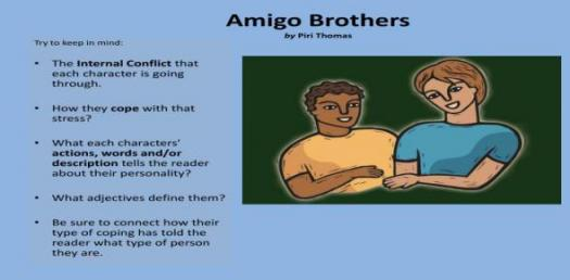Are You Sure You Can Pass This Amigo Brothers Quiz?