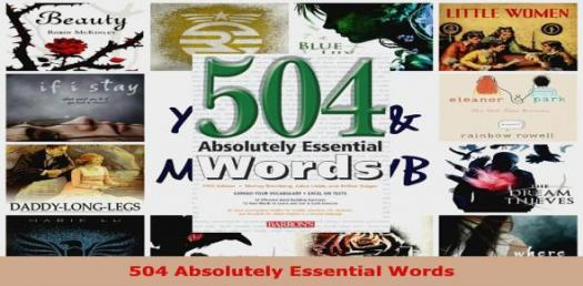 Only A Genius Can Pass 504 Absolutely Essential Words! Trivia Quiz