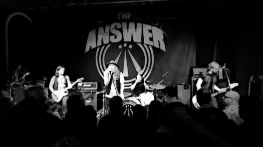 The Answer: A Chilling Rock Band! Quiz