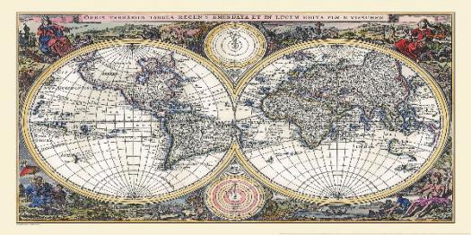 Types Of Cartography! Trivia Questions Quiz