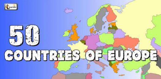 Geography Of European Countries! Trivia Quiz