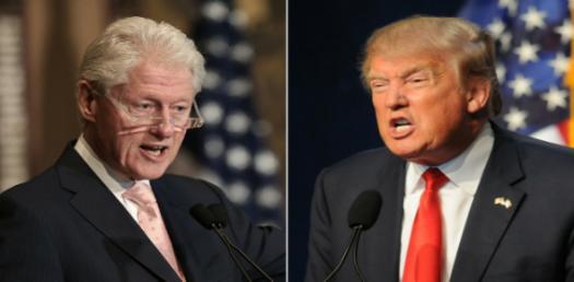 Are You More Like Bill Clinton Or Donald Trump?