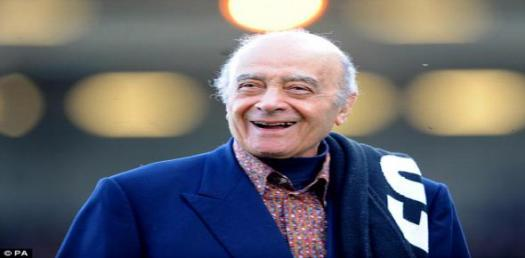 Personal Life Of Mohamed Al Fayed! Trivia Facts Quiz