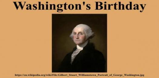 A Trivial Quiz On George Washington
