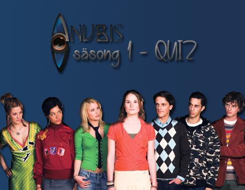Huset Anubis S�song 1 Quiz