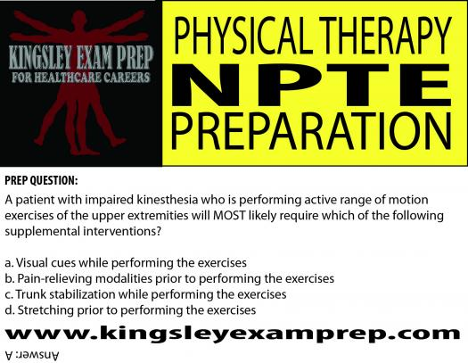 Npte Physical Therapist Exam Review