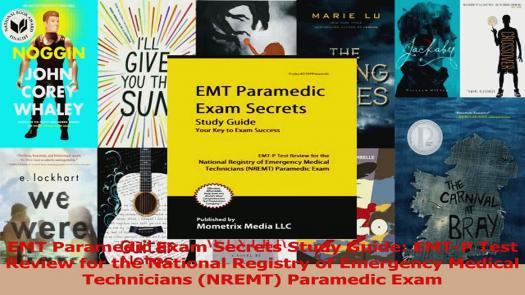 NREMT Paramedic Certification Exam
