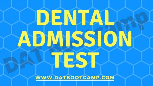 DAT Review Questions (Dental Admissions)