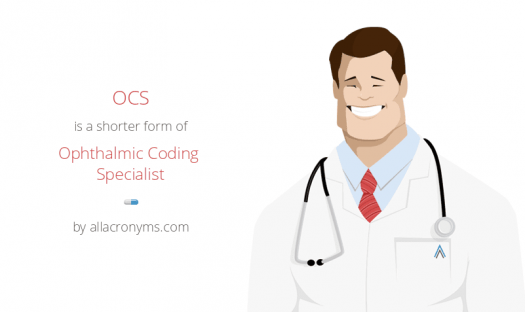 Opthalmic Coding Specialist Study Questions