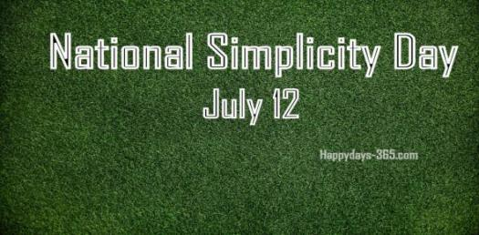 A Quiz On Simplicity Day