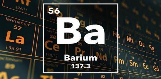 Trivia quiz about Barium