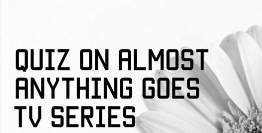 Interesting Quiz On Almost Anything Goes TV Series?
