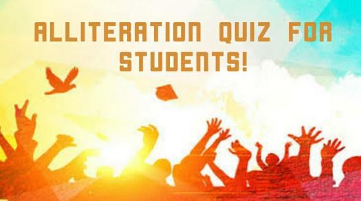 Alliteration Quiz For Students!
