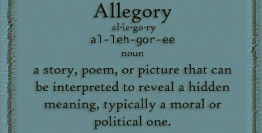 Literary Terms: All About Allegory! Quiz