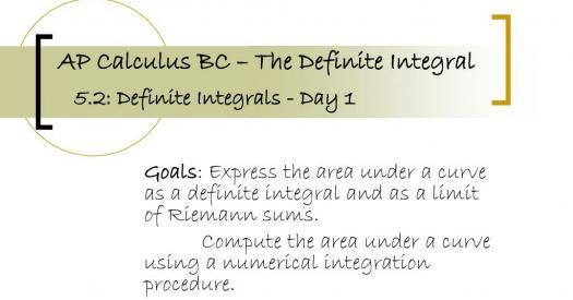 AP Calculus Integrals Practice Test!