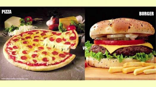 Which Fastfood Suits You The Most? Burger Or Pizza?