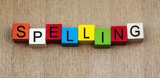 Spelling Test - Lesson 1