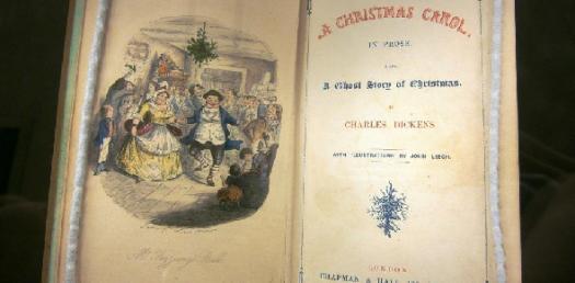 English A Christmas Carol.
