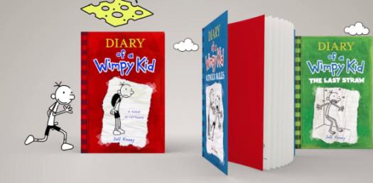 Diary Of A Wimpy Kid ( All 7 Books )