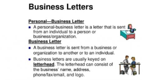 Do You Know About Format Of Personal Business Letter?