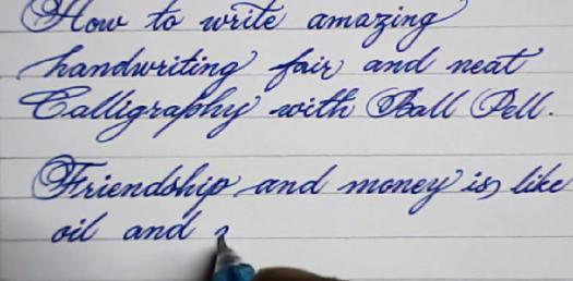 Handwriting Quiz: What Does It Say About You?