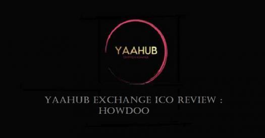Yaahub Ico Review For Howdoo