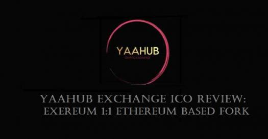Yaahub Ico Review For Exereum 1:1