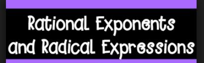 Integer And Rational Exponents Quiz P5