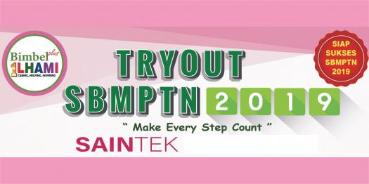 Try Out Test Center SBMPTN 2019 - Saintek