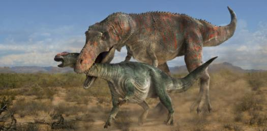 Are You Afraid Of Dinosaurs, Or Dinosaurs Are Afraid Of You?
