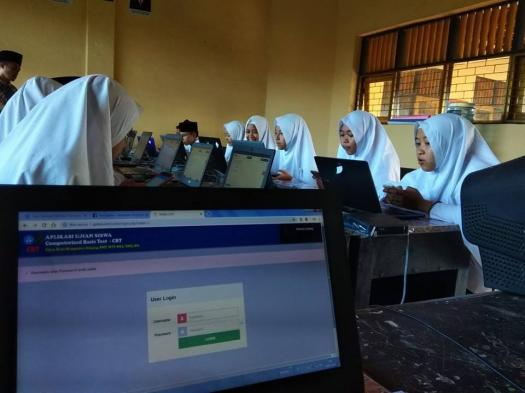 Latihan Simulasi Uambn-bk Quran Hadis 2019 Mts Materi Khusus Kelas 9