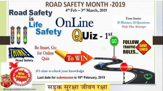 Road Safety Online Quiz - I