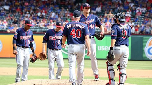 Mn Twins Opening Day Starters