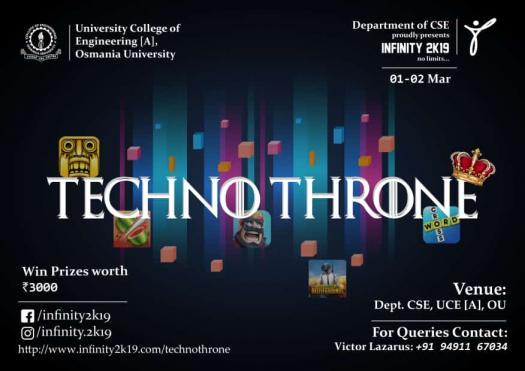 Techno Throne First Round!