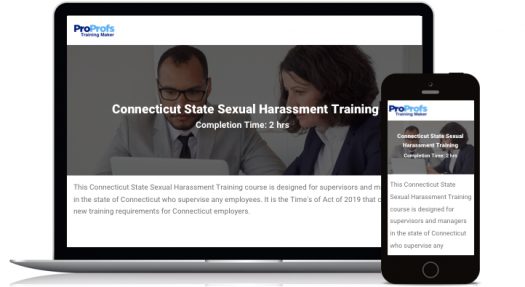 Connecticut Online Sexual Harassment Training Course